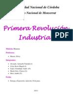 Historia . Revolucion Industrial Inglesa.