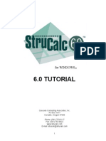 StruCalc 60 Tutorial