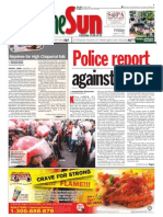 thesun 2009-08-14 page01 police report against tiong