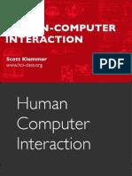 Slides PDF HCI 01 1 HumanComputerInteraction