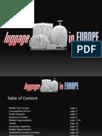 Luggage Market Europe 2009