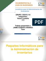 Aporte 3 Trabajo Colaborativo 1 La Informatica en La Administracion de Inventarios