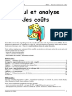Analyse Des Couts Et Marge