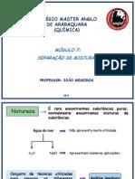 Separação de Misturas - Prof. João