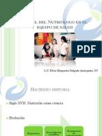01 El Nutriologo en El Equipo de Salud