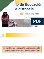 Presentacion Modelo Educativo Uniminuto Virtual y Distancia