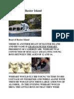 The Beast of Baxter Island