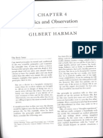 Harman Ethics Observation