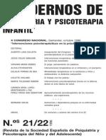 Cuadernos de Psiquiatria Psicoterapia Infantil (21-22)