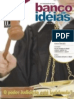 Revista Banco de Ideias n° 43 - O Poder Judiciário está legislando - materia de capa - R43