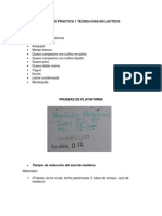 Informe Practica 1 Tecnologia en Lacteos