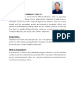 Acupuncture information