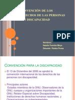CONVENCION Para Las Personas Con Discapacidad