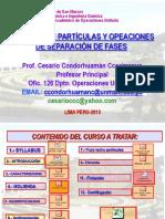 Curso Particulas 2013-II