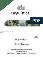 Ling II-1aU-1 Corrientes Lingueisticas