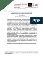 08_Coderch_Psicoanlisis  Relacional de  Frecuencia Semanal y Larga Duracion_CeIR_V6N3
