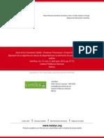Aplicación de un algoritmo de cálculo de disparidad para la estimación de profundidades usando cámar