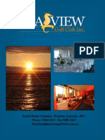Sea View Function Brochure