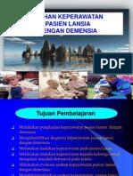 Askep Dimensia