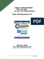 Panduan Frs Online ITS