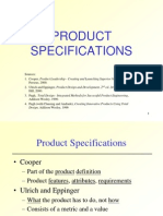 5 Product Specifiaction