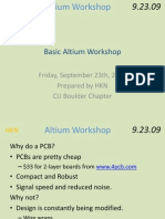 Altium Workshop Basic 2009