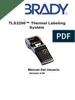 manual de etiquetadora TLS 2200 en español