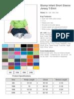 Stomp Infant Short Sleeve Jersey T-Shirt