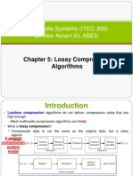Chapter 8-b Lossy Compression Algorithms
