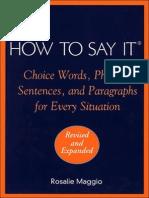 A Sentence Dictionary | Spelling | Dictionary