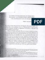 Corte Interamericana Reparaciones Acatamiento Esatdos