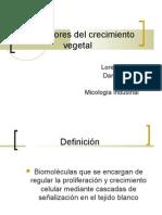 Reguladores Del Crecimiento Vegetal.Micologia