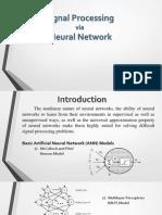 signal processing via nn