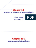 10 Amino Acid and Protein Analysis