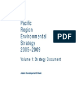 Pacific Region Environmental Strategy 2005-2009 - Volume 1