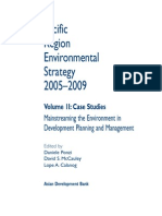 Pacific Region Environmental Strategy 2005-2009 (Volume 2