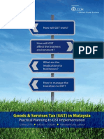 GST in Malaysia Seminar Brochure KL Png