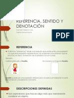 REFERENCIA, SENTIDO Y DENOTACIÓN