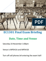 Final Exam Briefing-1dfdsfds