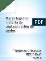 Marco legal en materia de contaminación de suelos 1