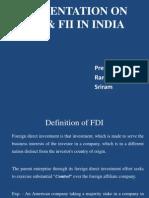 FDI vs FII in India
