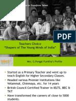 Teachers' Seminar