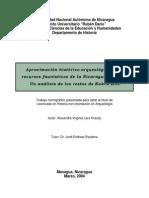 Aproximacion Historica de Los Restos Faunisticos - Arqueologicos de La Nicaragua -_faunal_resources_-_kukra_hill_nicaragua