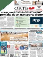 Periódico Norte de Ciudad Juarez 25 de Noviembre de 2013