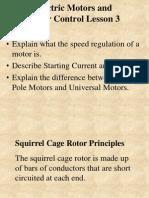 Motors and Motor Controls Lesson 3