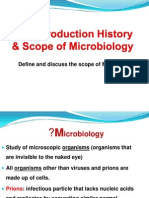 History & Scope of Microbiology(BHSc)