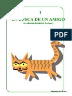01 EN BUSCA DE UN AMIGO (Avaliación inicial de lectura)