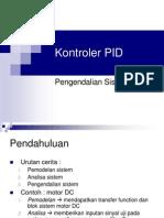 Kontroler PID 3 Pada Motor DC