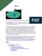 Cosmología física fundamentos