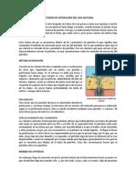 MÉTODOS DE EXTRACCIÓN DEL GAS NATURAL